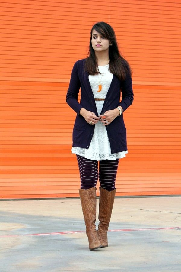 Yellow and orange outfit ideas with leggings, blazer, denim