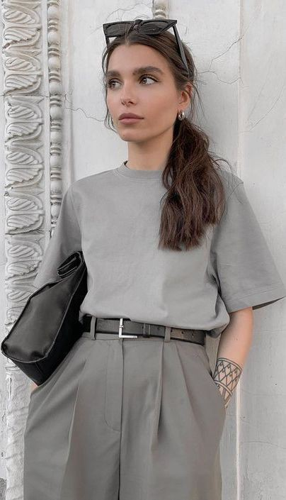 Maria cute and sexy Hairstyle, belt, outfit ideas