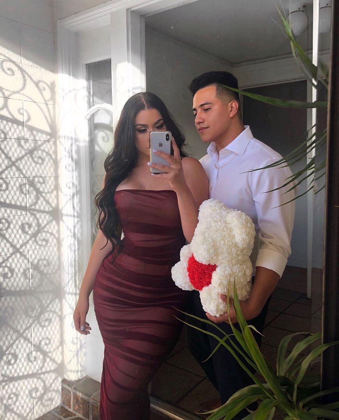 Alondra Mendoza bridal clothing, wedding dress formal wear colour outfit