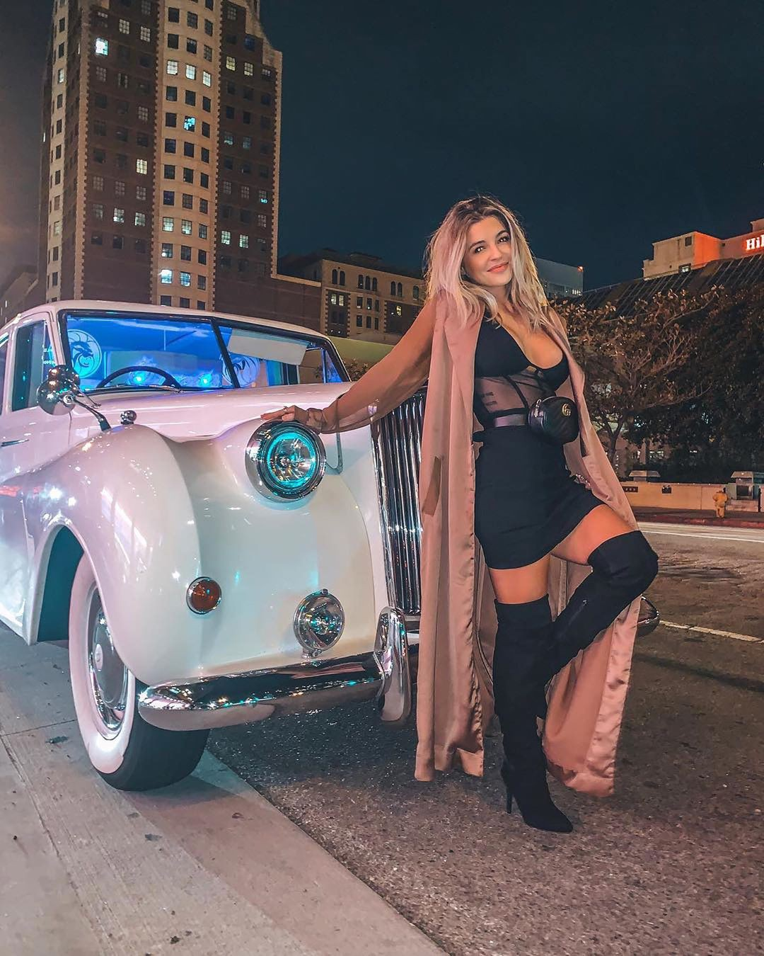Nikki Blackketter blond hairs, costumes designs, motor vehicle