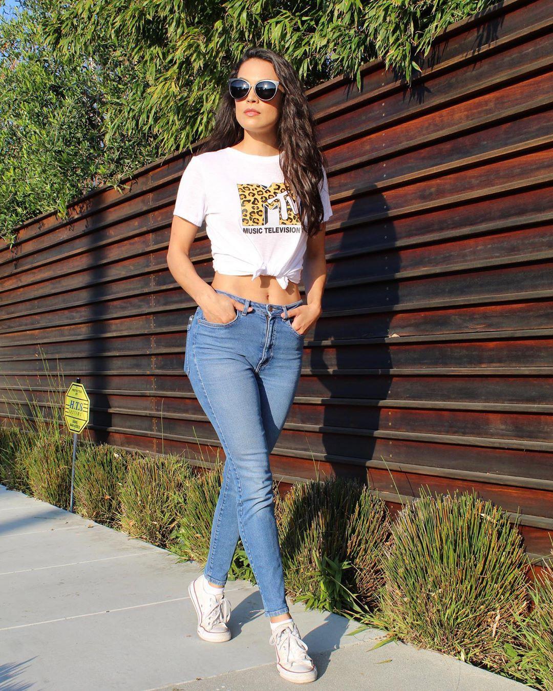 White and blue denim, jeans, eyewear