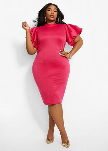Magenta and pink vogue ideas with cocktail dress, sheath dress, party dress, sheath dress