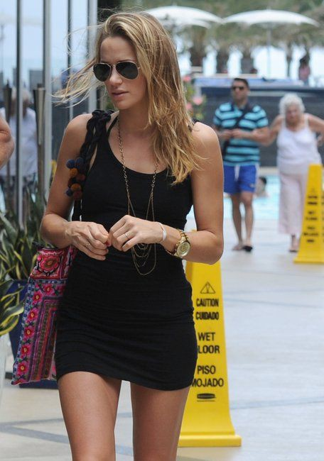 Shantel VanSanten hot thighs, natural blong hairs, sunglasses, eyewear