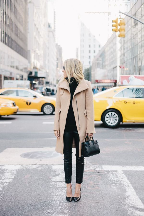 Work outfits in nyc winter