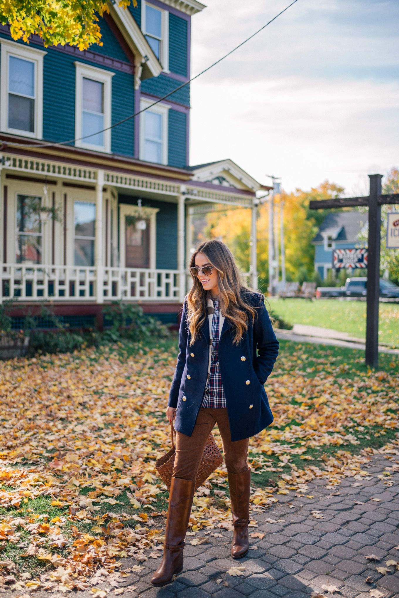 Gal meets glam fall outfit