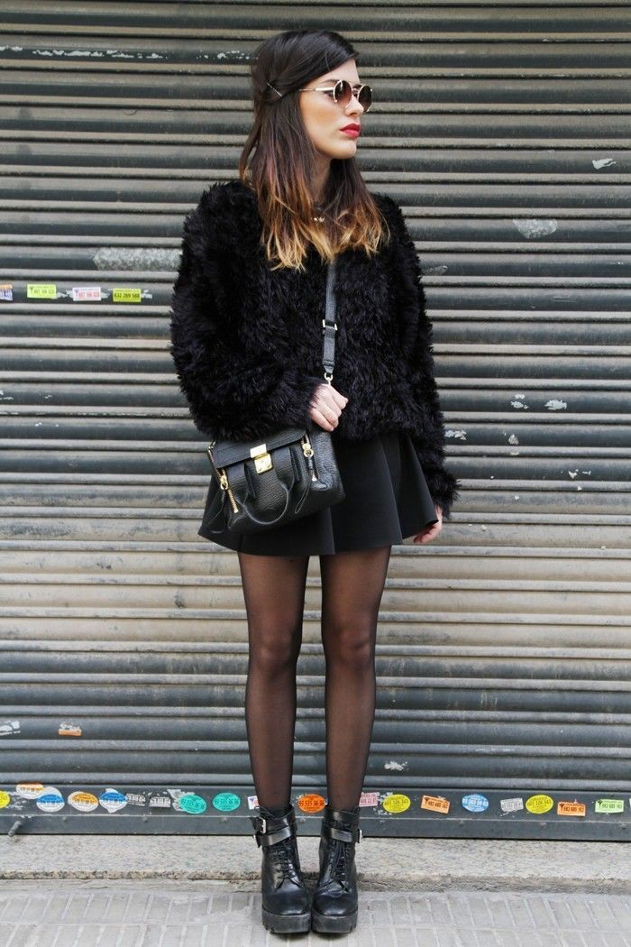 Colour outfit, you must try looks dulceida invierno aida domènech, winter clothing