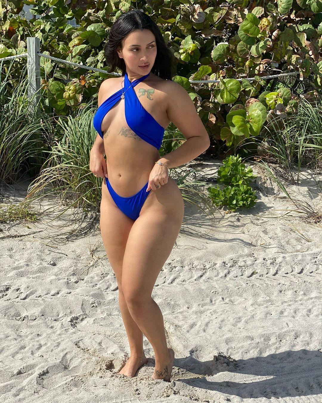 Nebby Fusco bikini swimwear trendy clothing ideas, hot thighs