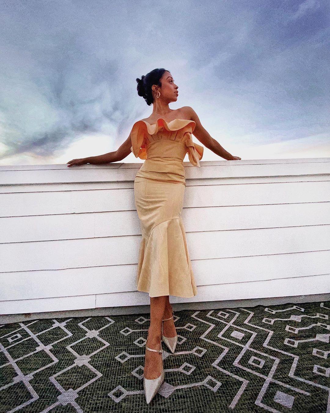 Liza Koshy dress, gown dresses ideas, cute girls photos