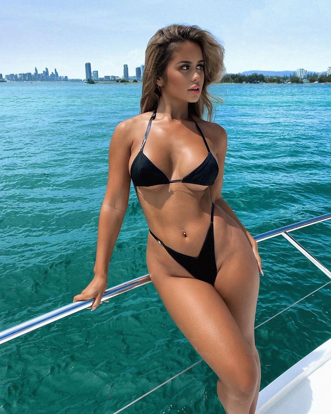 Tarsha Olarte undergarment, bikini swimwear dress for girls
