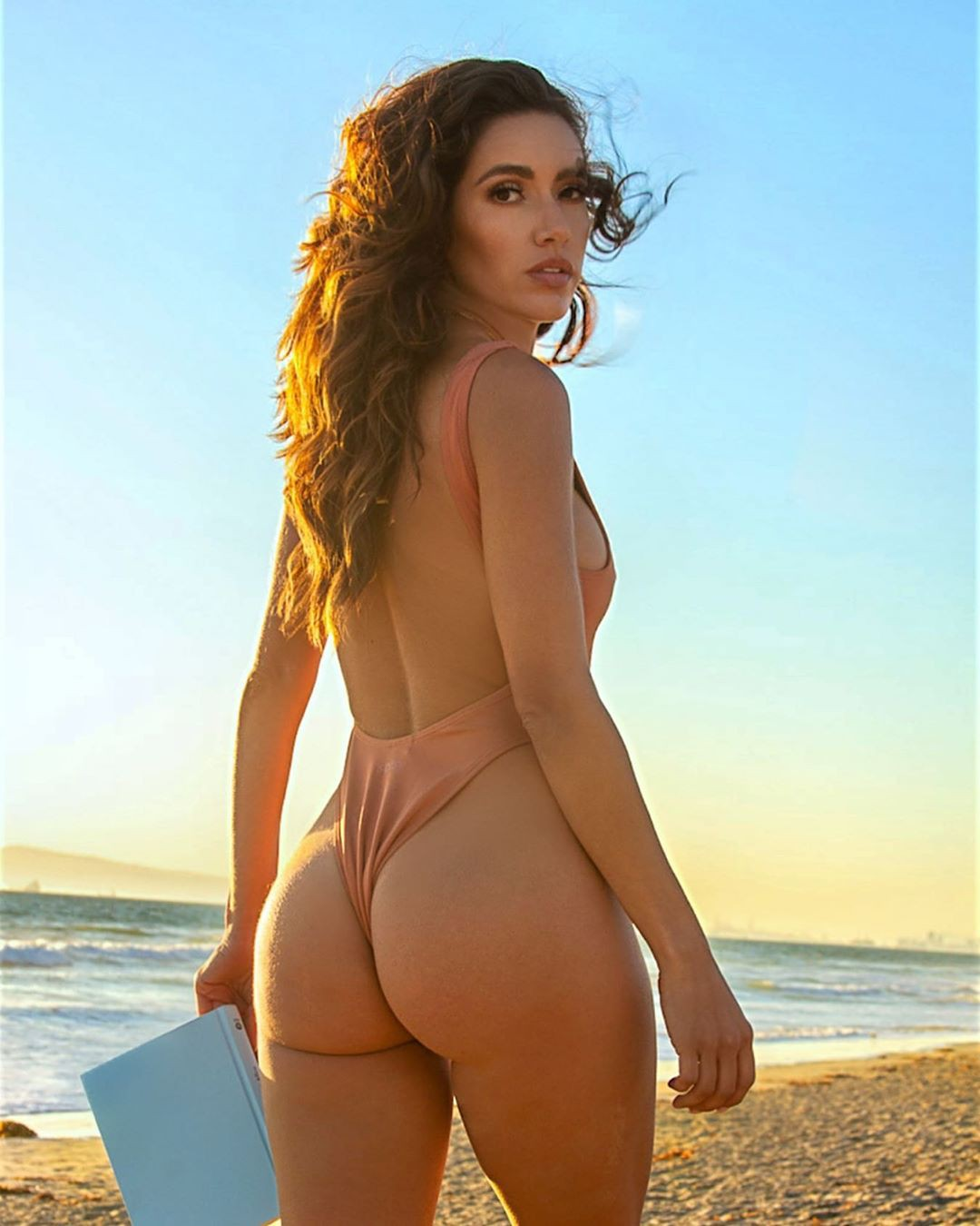 Mercedes Terrell bikini swimwear , hot thighs