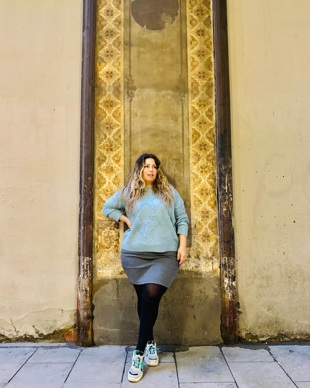 yellow colour dress with leggings, tights, photography ideas
