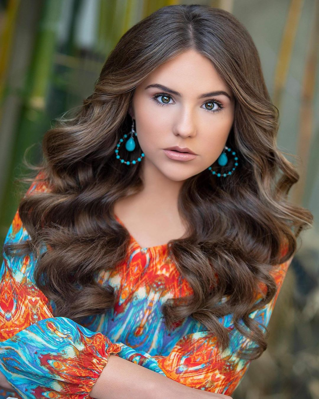 Piper Rockelle girls photoshoot, Pretty Look, Long Layered Hair