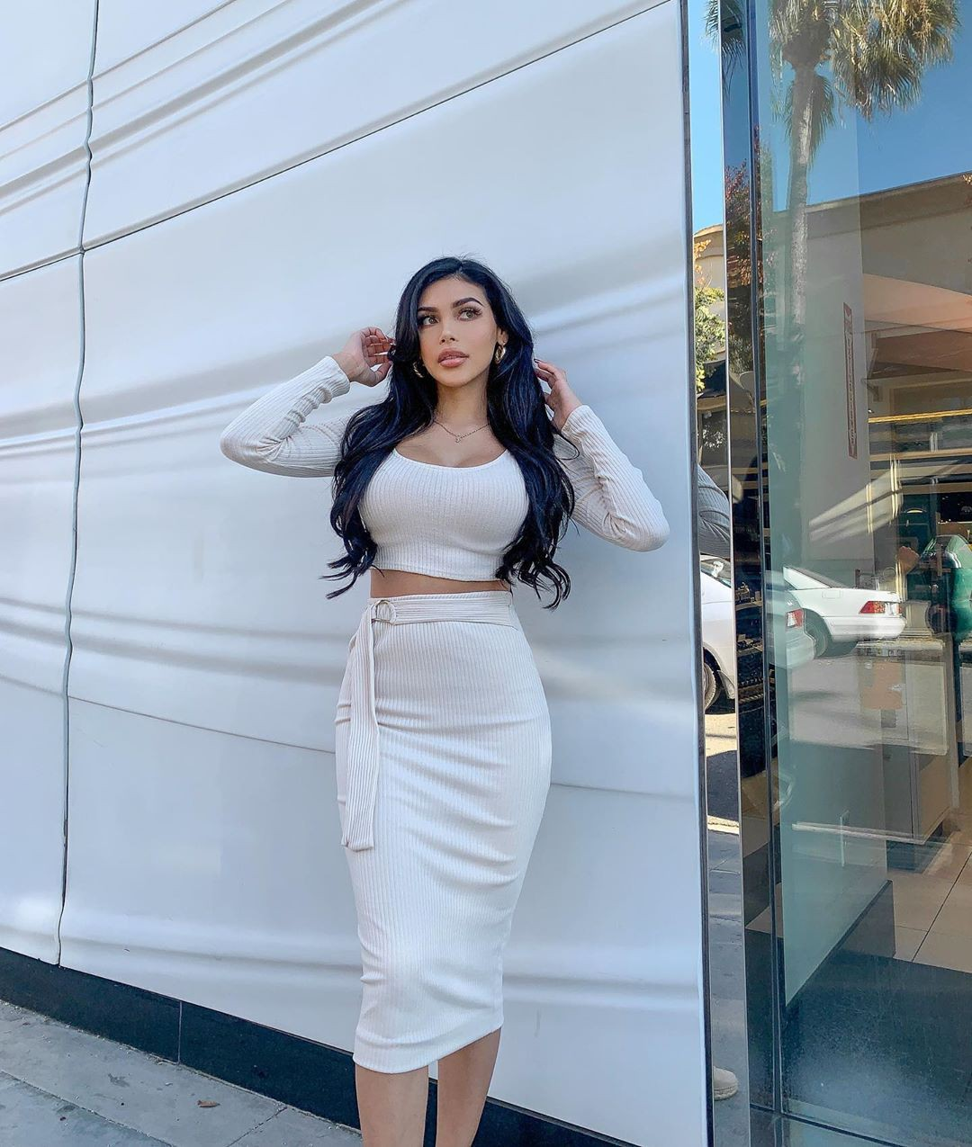 white clothing ideas with dress, fashion ideas, fashion model