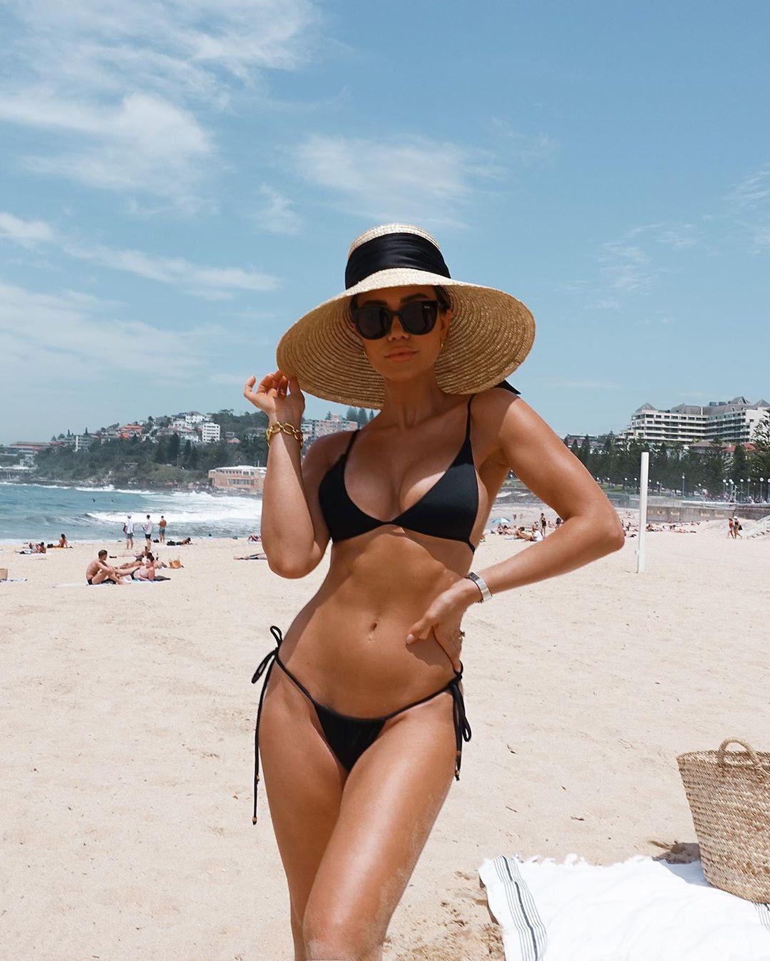 Pia Muehlenbeck lingerie, bikini swimwear colour combination