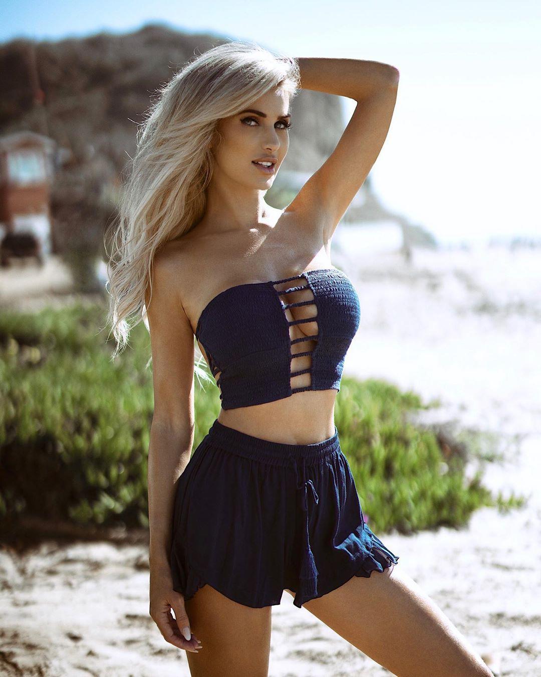 Leanna Bartlett bikini dress for women, fashion photoshoot, Cute Model Pics