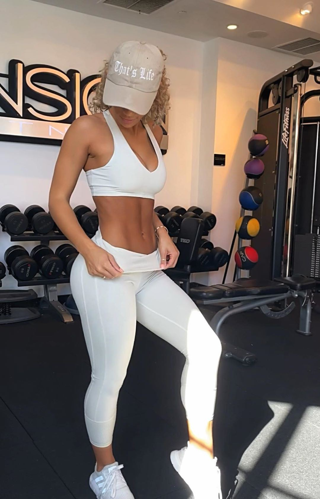 white outfits for girls with active pants, sportswear, tights