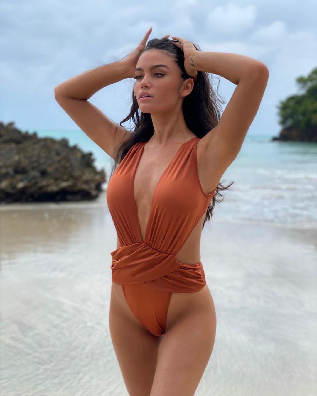 Anne De Paula bikini swimwear dress for girls, girls photoshoot