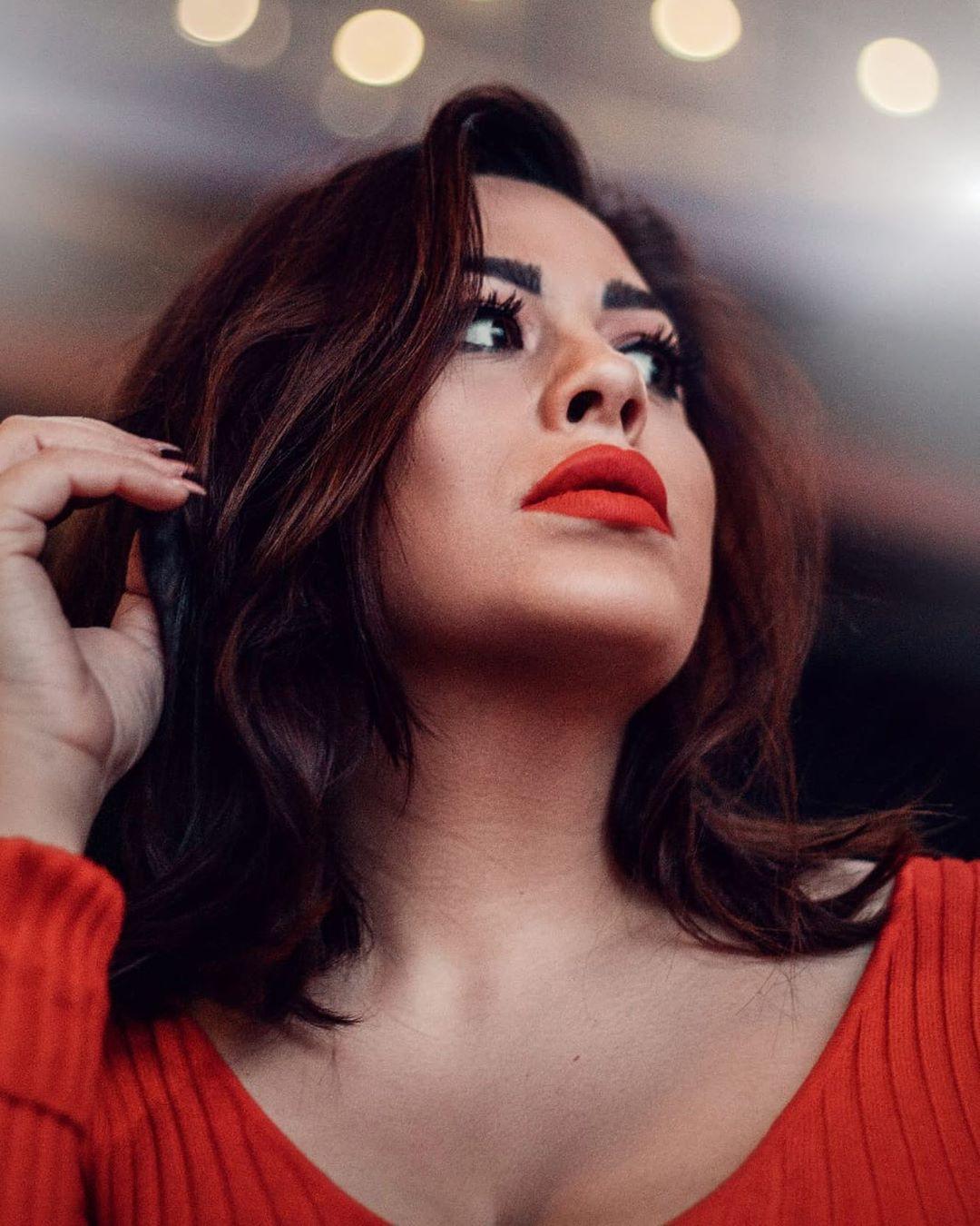 Costina Ana-Maria Cute Face, Lip Makeup, Long Hair Women
