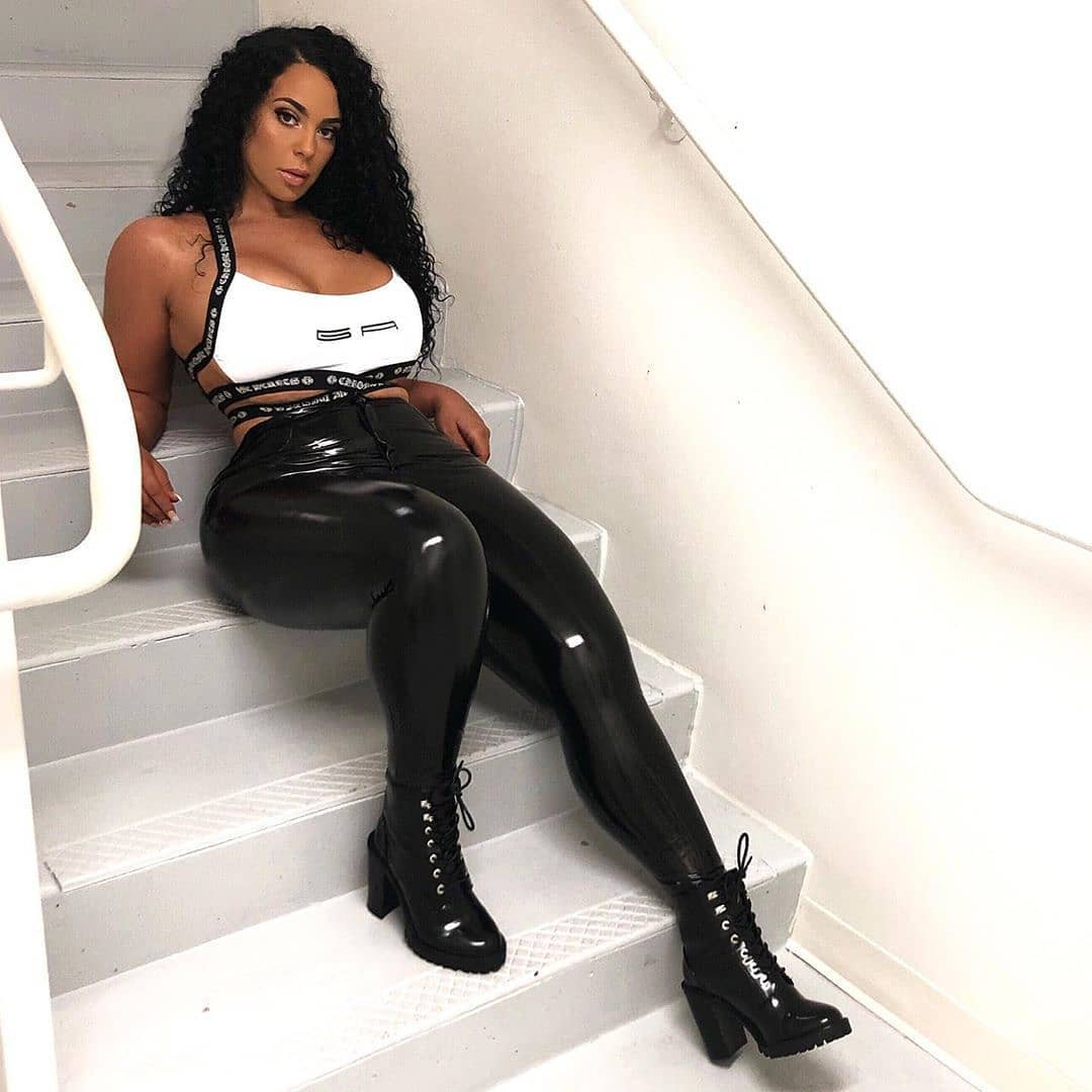 black cute collections with fetish model, stocking, tights