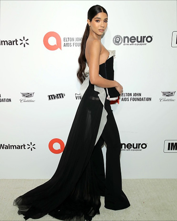Yovanna Ventura strapless dress, gown colour outfit