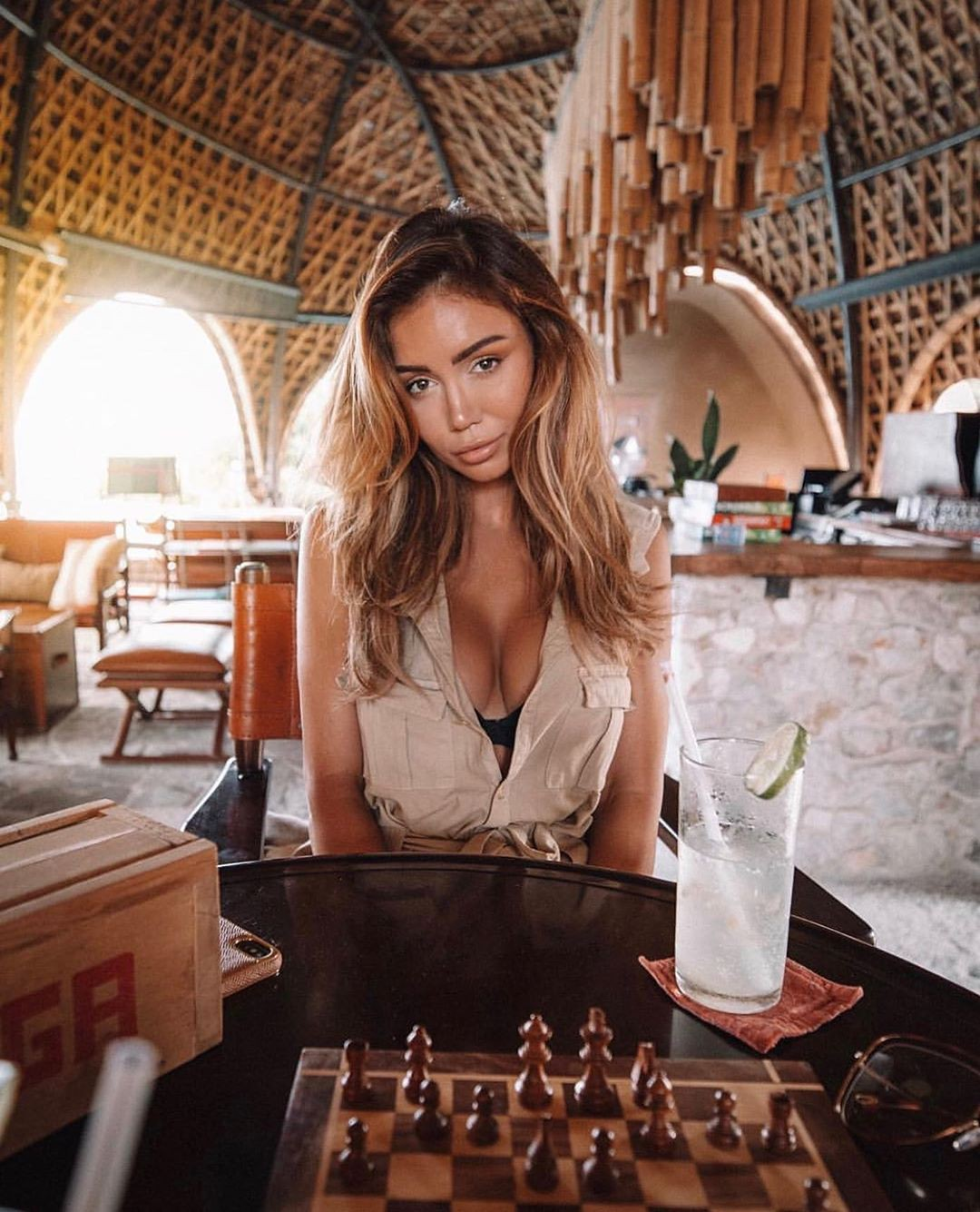 Pia Muehlenbeck Long Hair Girl, indoor games and sports, board game