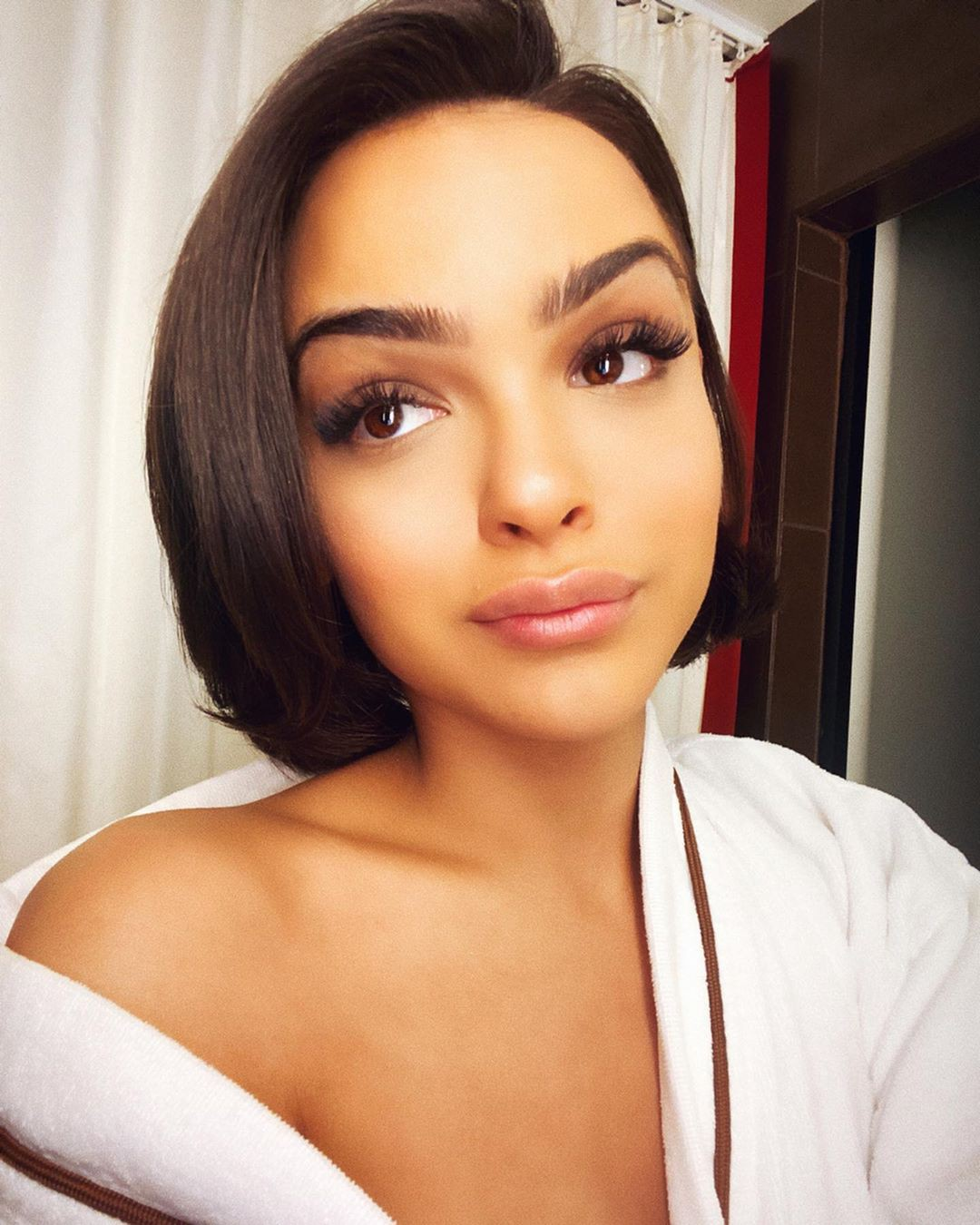 Lisa Ramos Cute Black Hairstyles, Girls With Cute Face, Natural Lipstick