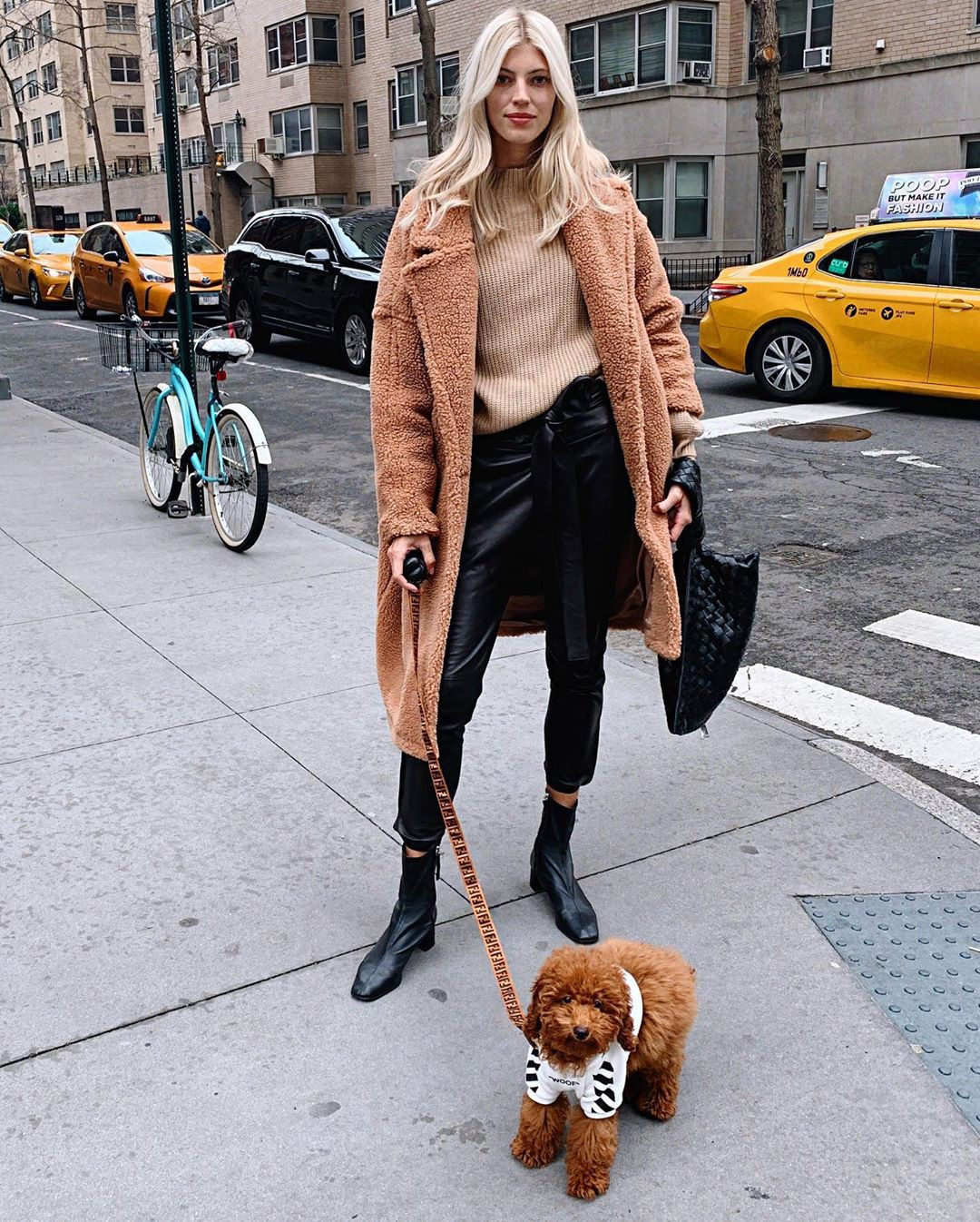 Devon Windsor fur clothing, fur outfit ideas, model photography