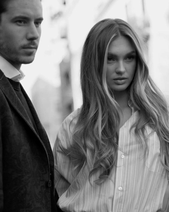 Romee Strijd fashion photography, Beautiful Lips, Long Layered Hair