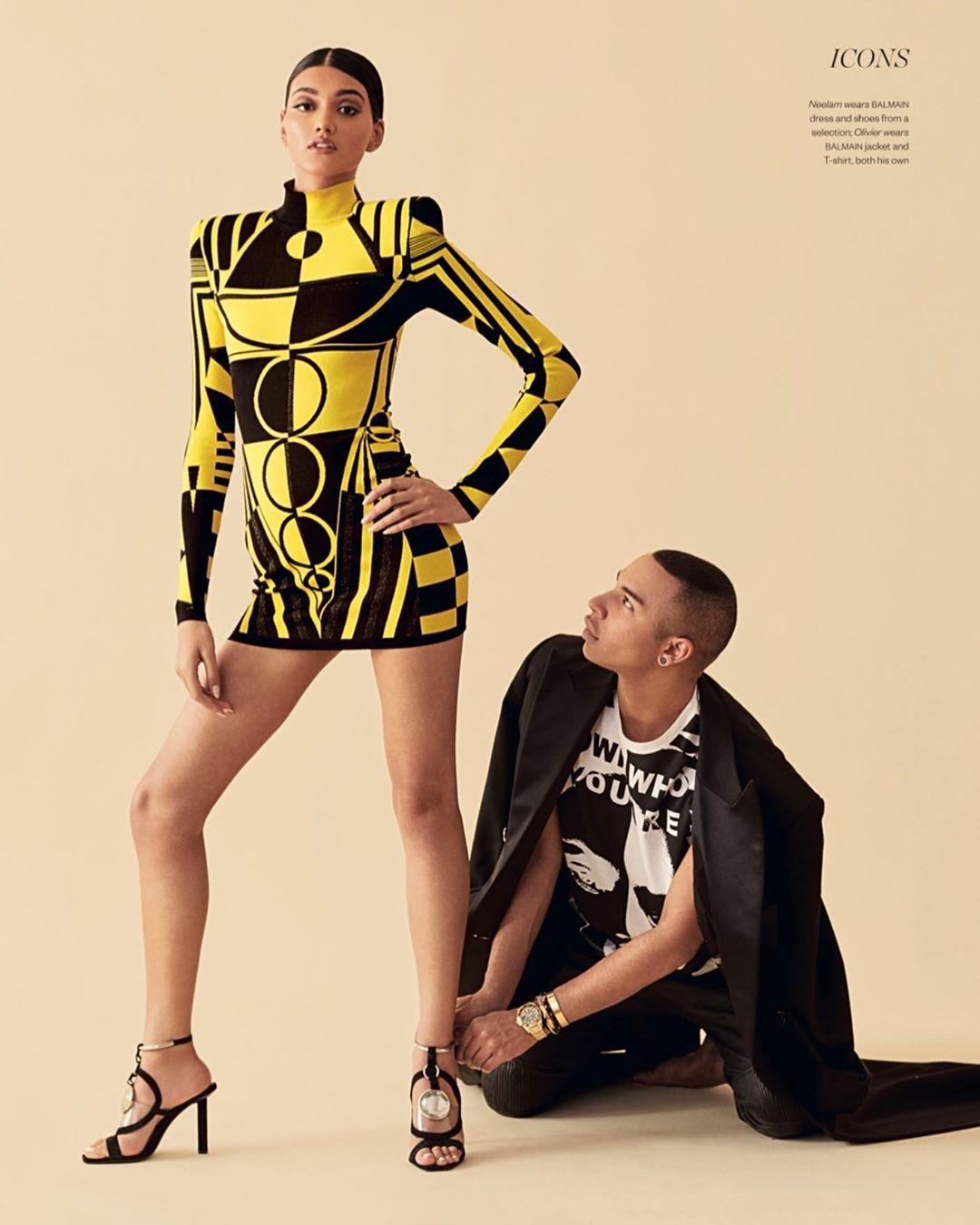 Neelam Gill legs pic, outfit ideas, fashion design