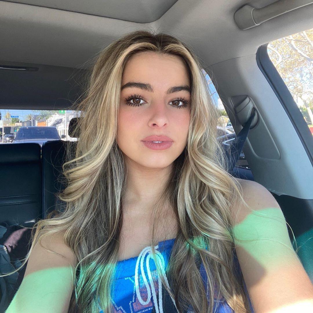 Addison Rae blond hairs, Cute Girls Face Instagram, Long Hair Girl