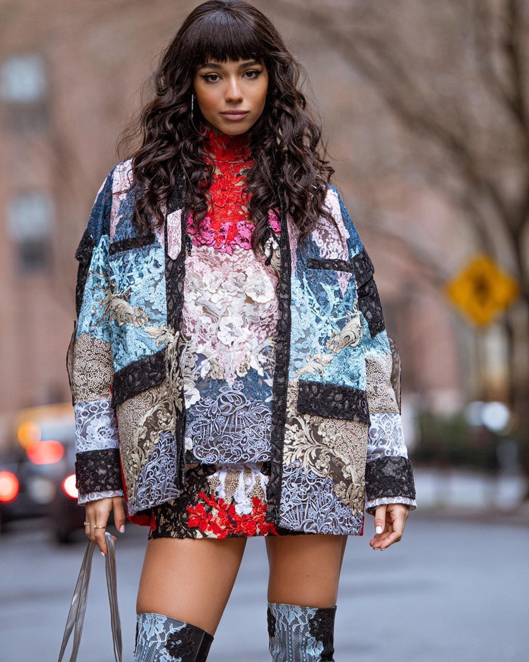 Yovanna Ventura model photography, apparel ideas, street fashion