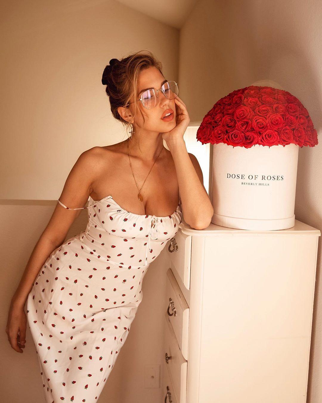 Kara Del Toro dress lookbook dress, hot girls photoshoot, girls instagram photos