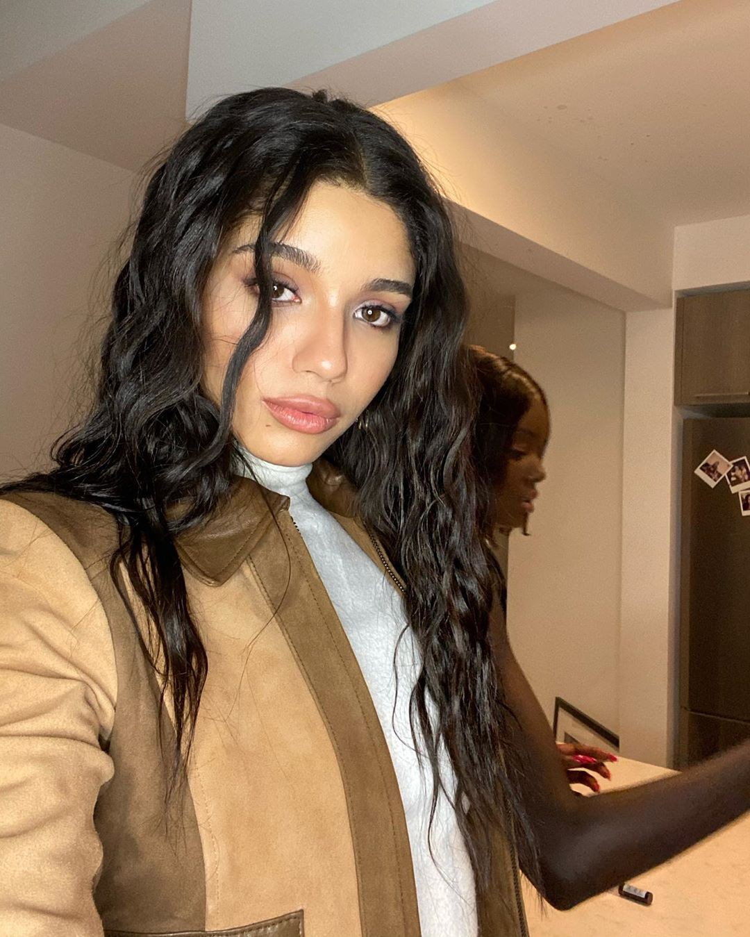 Yovanna Ventura Dark Black Hairs, Beautiful Lips, Hairstyles For Long Hair