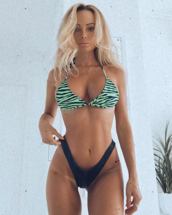 Abby Dowse lingerie, bikini swimsuit top, swimwear dress for women