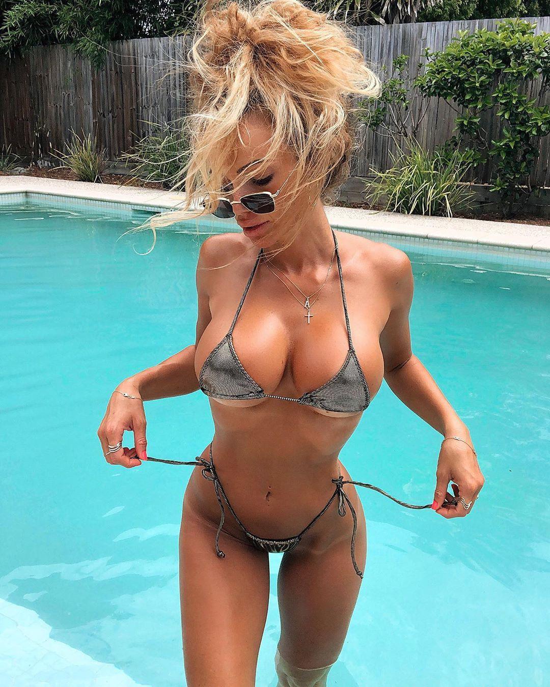 Abby Dowse lingerie, bikini swimwear outfits for girls