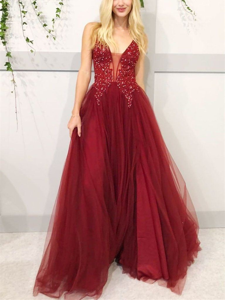 Red outfit style with bridal party dress, evening gown, gown