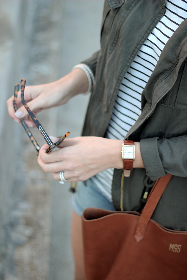 Brown designer outfit with fashion accessory, leather, jacket