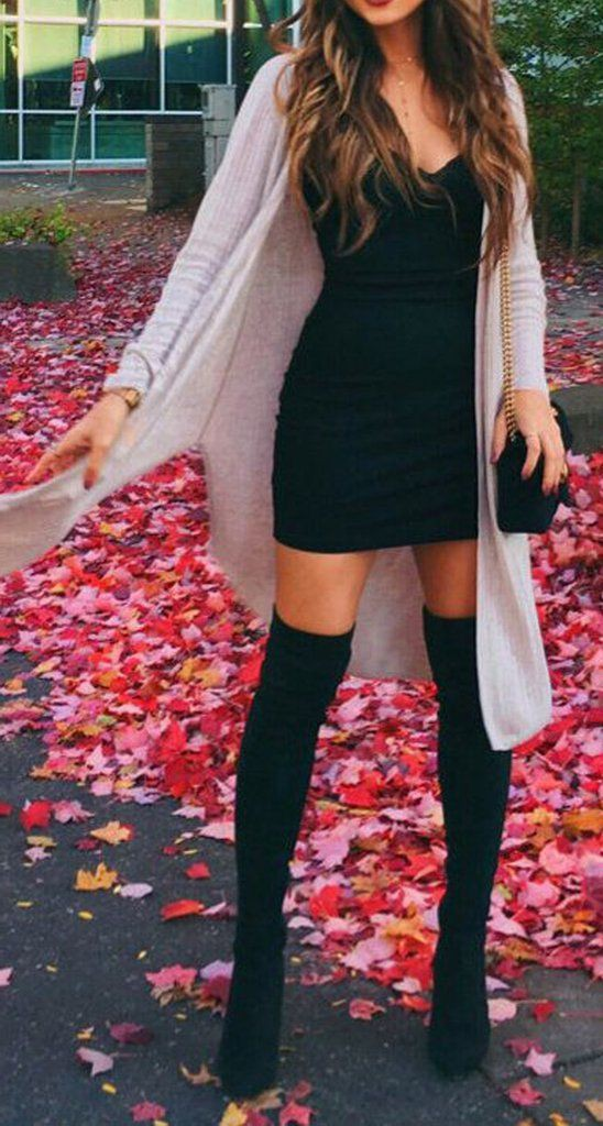 Night out outfit ideas with booties