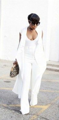 Cute all white outfits for women