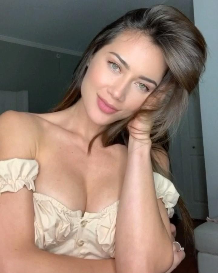 Georgina Mazzeo blond hairs, Long Hair Women, Hottest Model In World