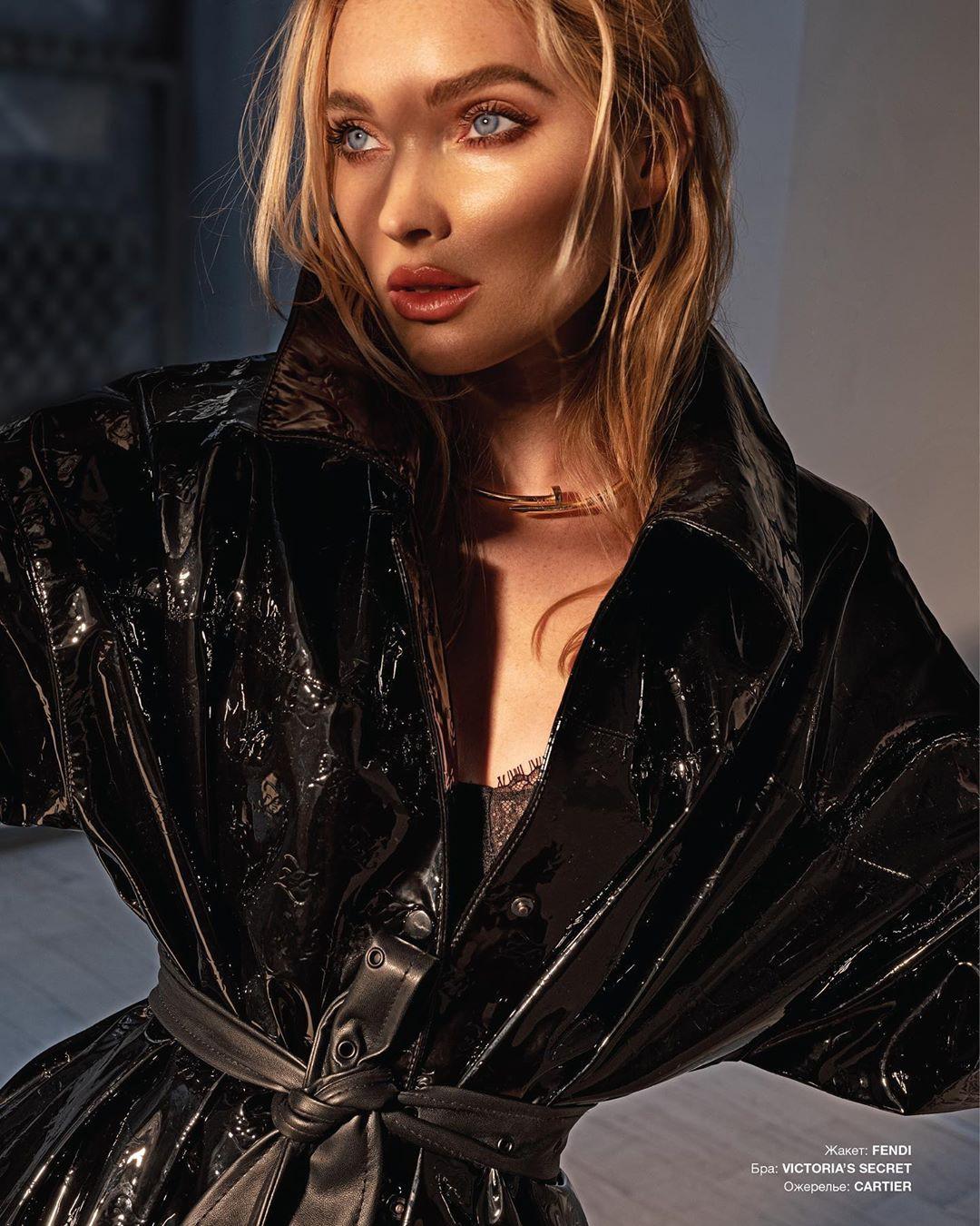 Elsa Hosk blond hairs, Beautiful Lips, Long Hair Cut Women