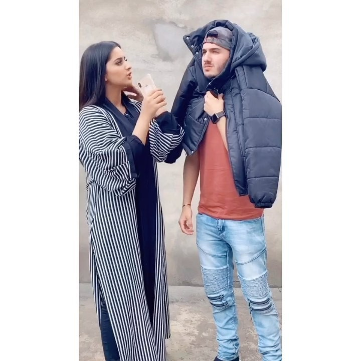 Alishbah Anjum jacket, denim, jeans outfit pinterest