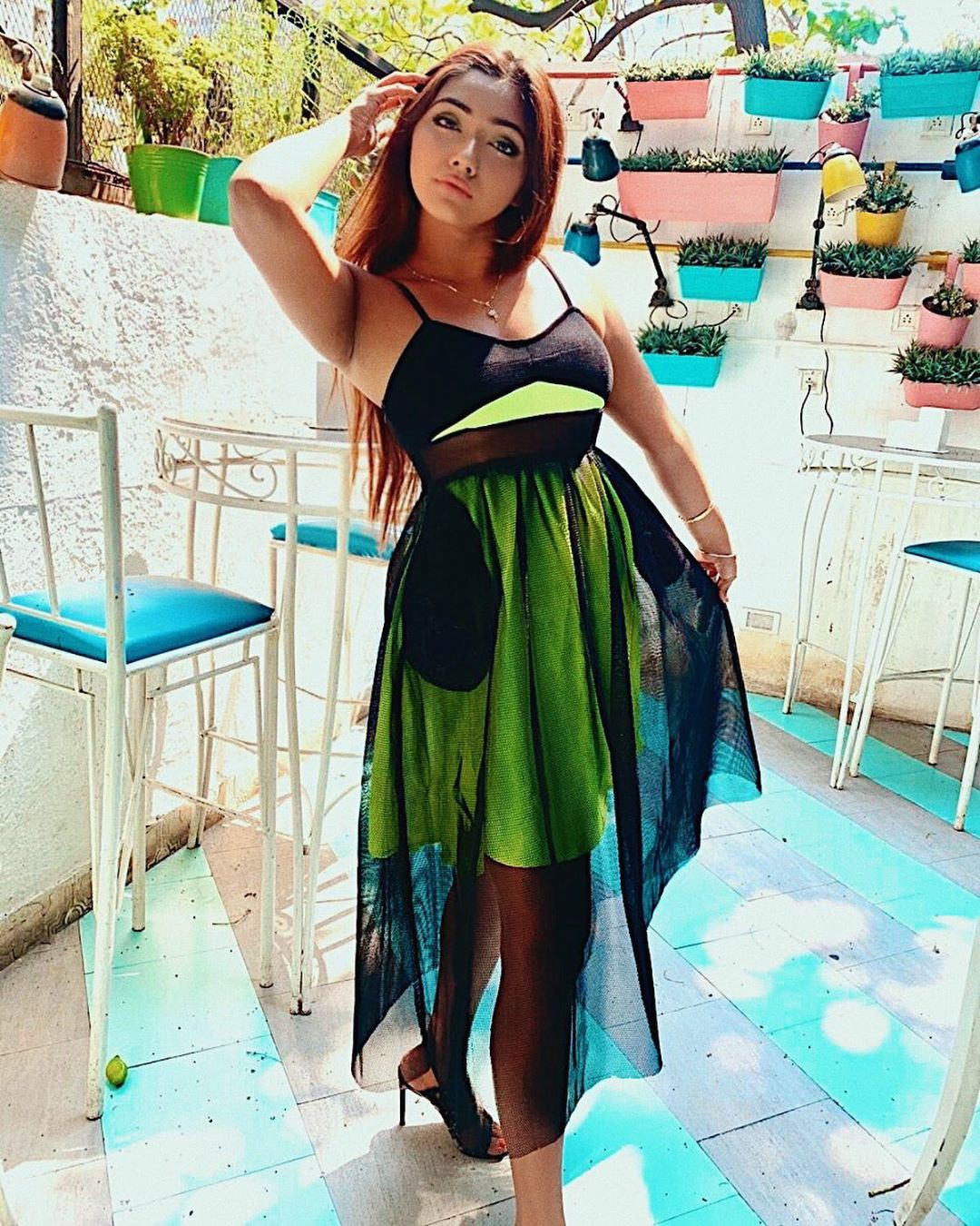 turquoise dress for girls with dress, girls photoshoot, Long Hair Women