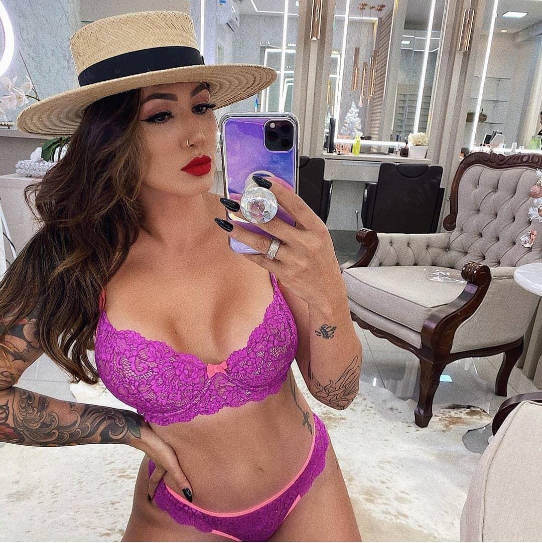 Purple and pink hot insta pic, lingerie, bikini lingerie top, swimwear