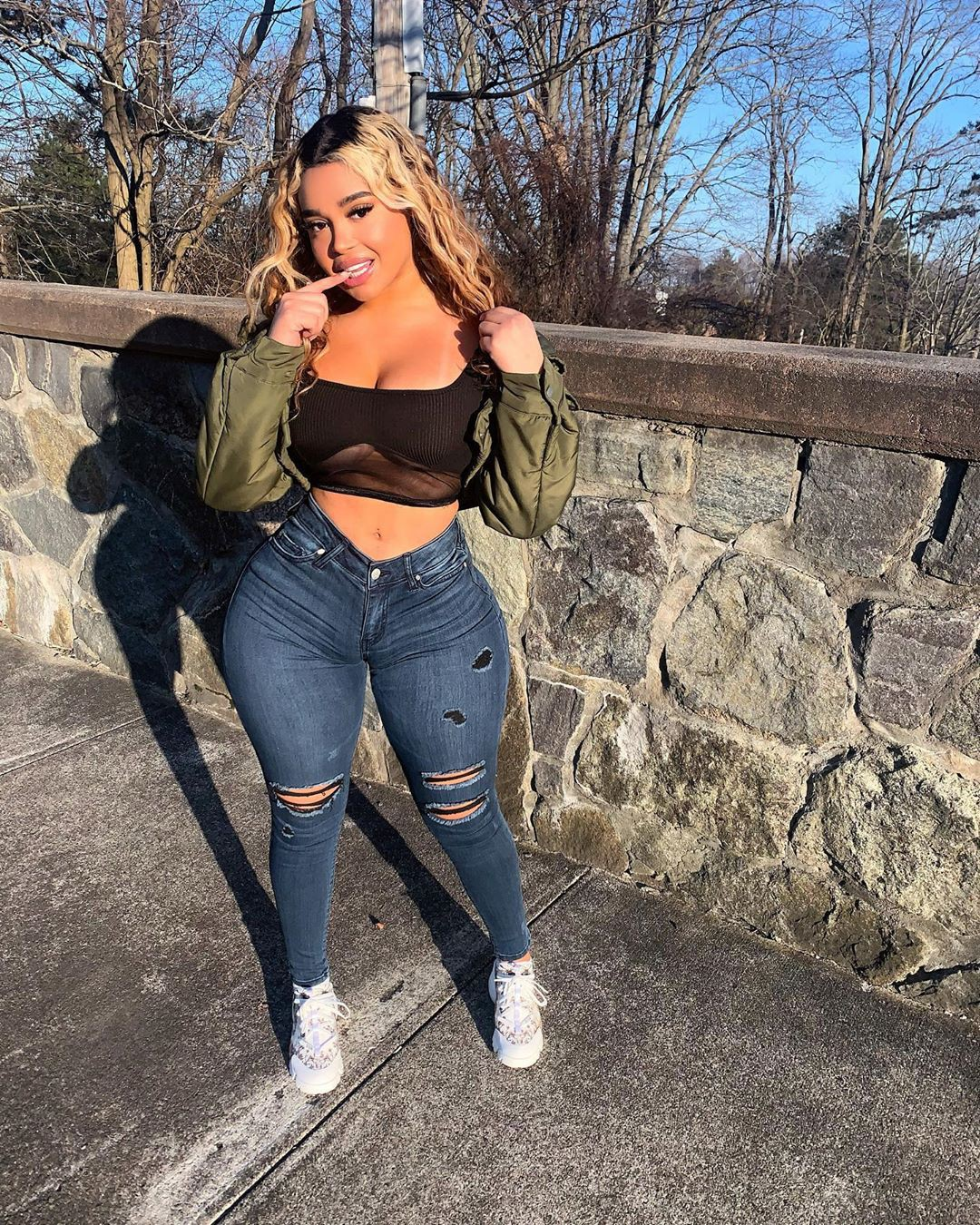 Giselle Lynette trousers, denim, jeans matching ideas for girls