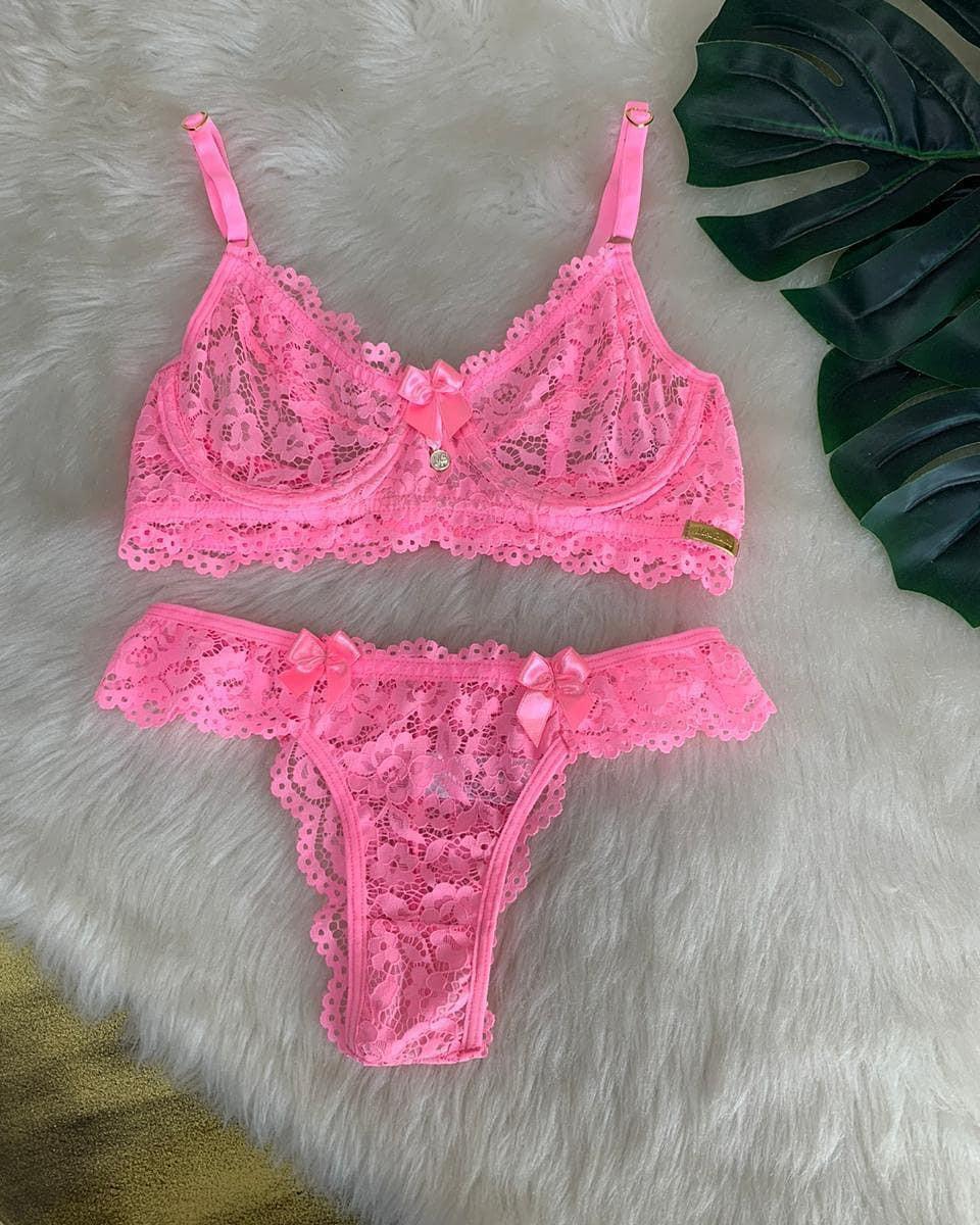 Magenta and pink Instagram sensation, lingerie, bikini lingerie top, swimwear
