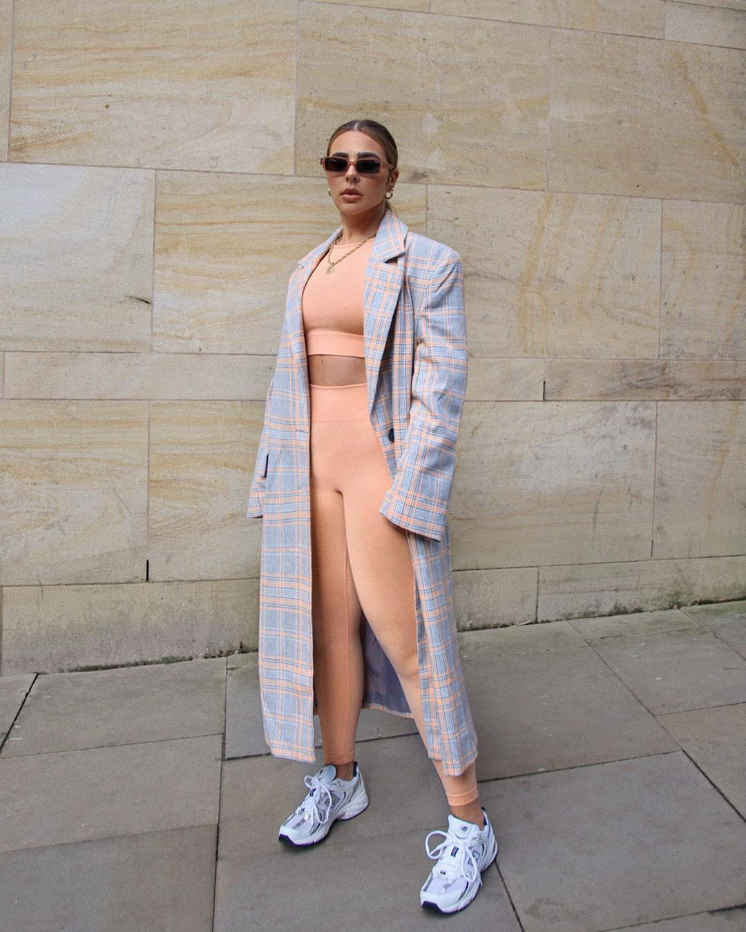 Beige and white trench coat, coat, outfit ideas