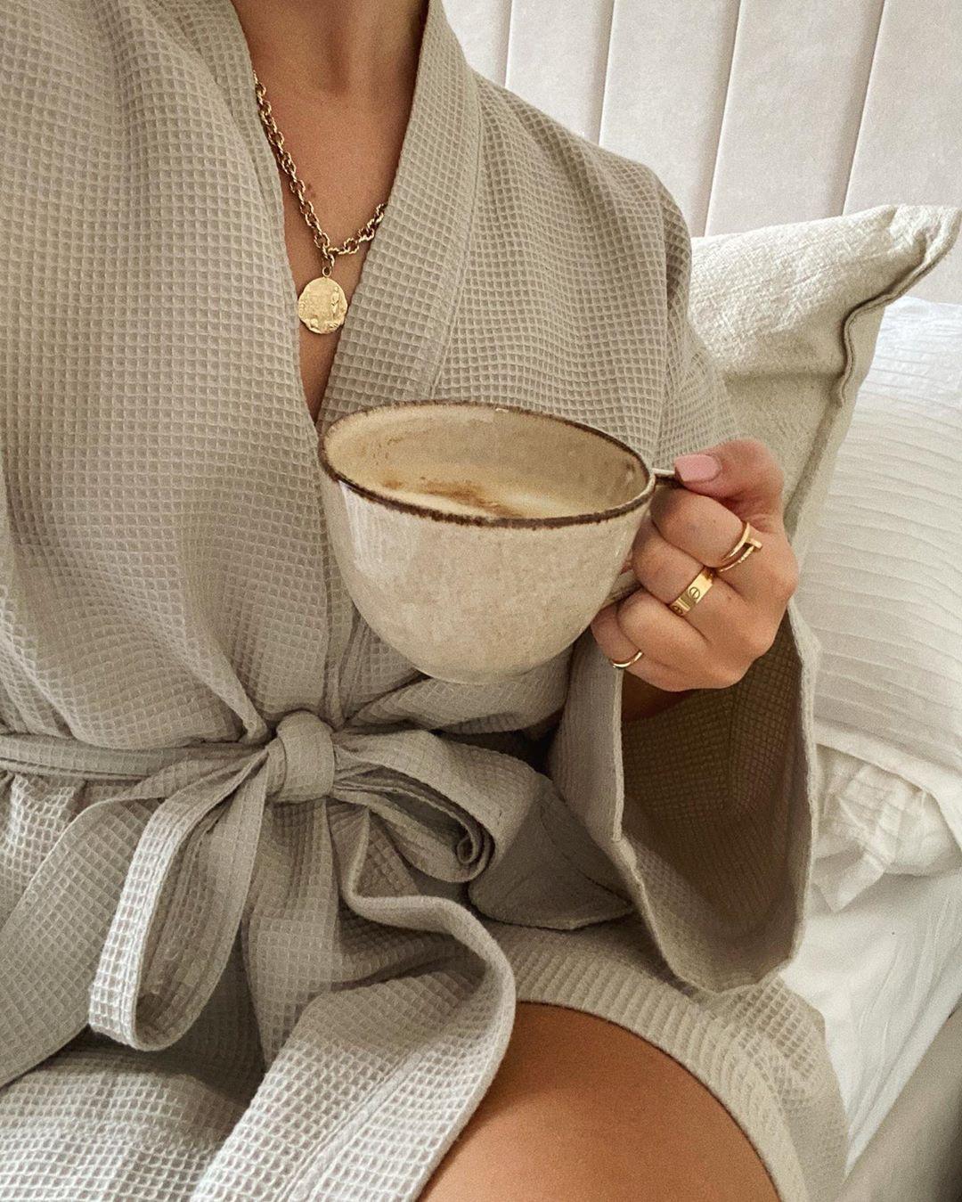 beige outfit ideas with nightwear, attire ideas, drinkware