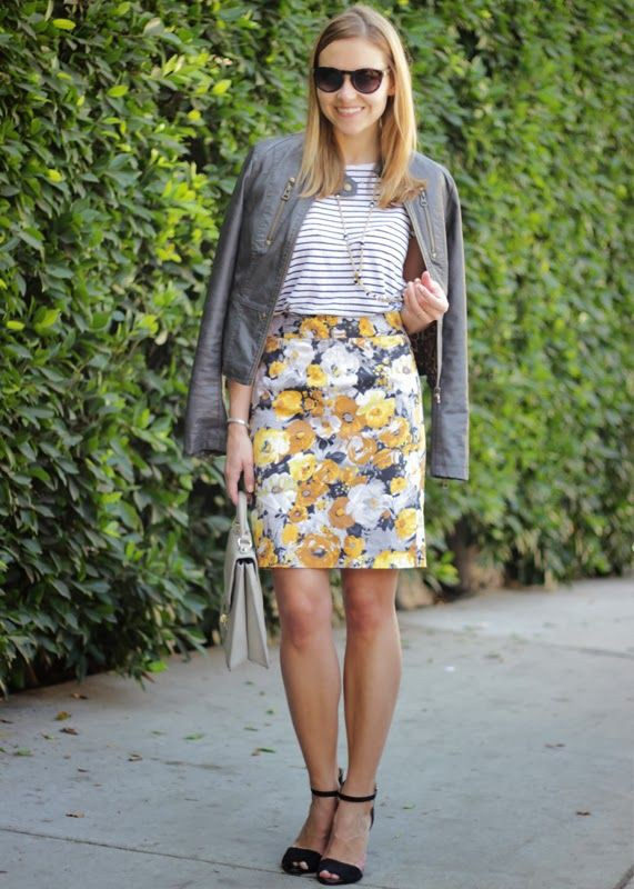 Yellow and white colour dress with jacket, jeans