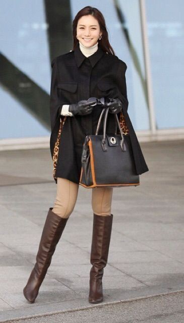 Brown trendy clothing ideas with trench coat, overcoat, leather